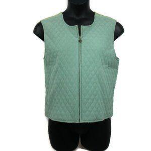 NWOT Vintage Koret Quilted Corduroy Vest - L